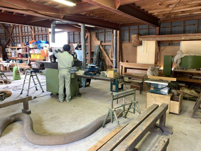 作業場の大改造
