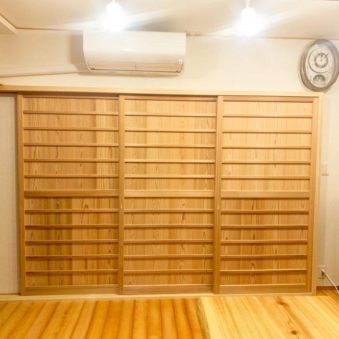 木製の建具は温かみがあって癒されます!