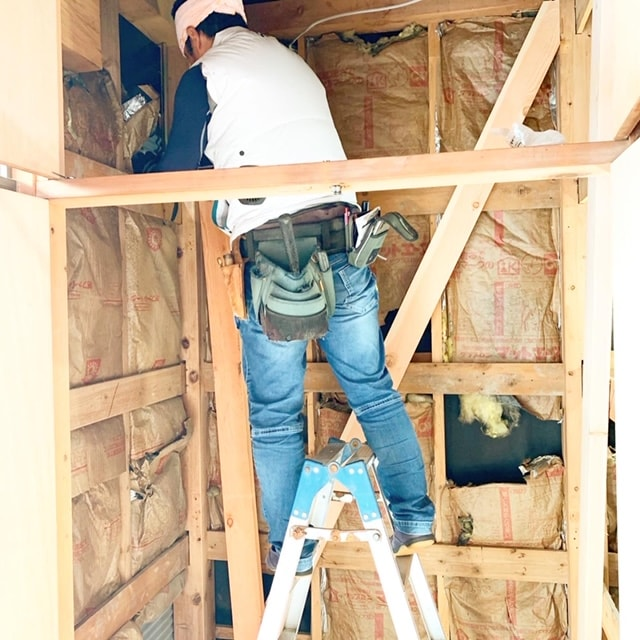 耐震補強工事をしています。今の住まいをもっと安心できる住まいへリノベーション!!